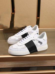 Best seller men shoes casual shoes vltn progettista star same paragraph leatherVALENTINOinner wear-resistant Flat vl7n shoes S3qB#