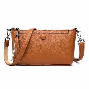 Sac de luxe dames de luxe 2020 sacs pour embrayage Bolsas Femininas Crossbody Women Messenger Cuir Solid Tmbws