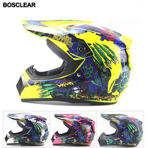 Мотоцикл Motocross Off Road Helmet ATV Dirt Bike Downhill DH Racing Charmet Cross Capacetes Motocross Hrange Round Casque1