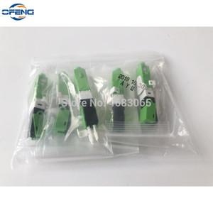 100PCS Lot FTTH ESC250D SC APC Single-Mode Fiber Optic Quick Fast Field Assembly Connector, Free Shipping