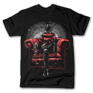 패션 악몽 SIDE 긴 의자 ELM STREET 프레디 매시업은 t 셔츠 티셔츠 새로운 티 셔츠 스포츠 후드 운동복 까마귀 망
