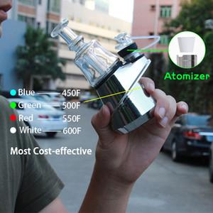 US STOCK SOC Enail Starter Kit Kit 2600mah TC Vape Mod With Wax Atomizer Concentrate Shatter Budder Dabber Rig
