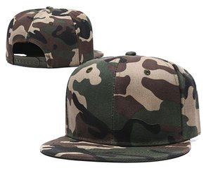 Wholesale Malla en blanco Camo Sombreros Snapbacks Gorra de béisbol Gorras deportivas Sombreros de protección solar