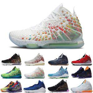 أحدث ليبرونجوامعLBJ 17S 18S Jumpman Men كرة السلة Monstars Future Air What The Mens Trainers Sports Sneakers Size 7-12