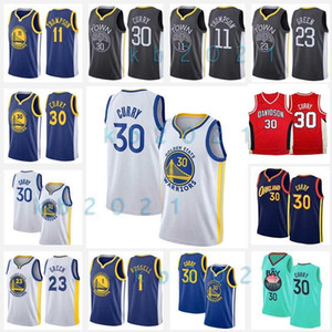 30 Stephen Jersey NCAA Curry Davidson Wildcats College Baloncesto Golden Klay Jerseys Thompson State