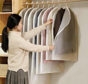 Humedad para la protección lateral de la camisa de la camisa de la camisa de polvo de la ropa de polvo de la bolsa de la cubierta de la bolsa 1pcs / lot Prueba JF006 Garmento de almacenamiento del hogar Sqcyr