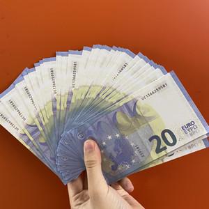 Nightclub Bar high quality pretend Euro 20 copy banknote fake movie money play money 100pcs pack