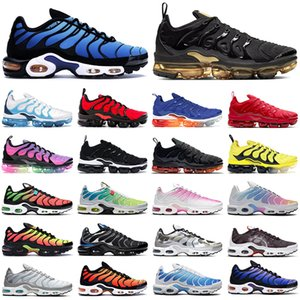 nike tn vapormax air max plus shoes mens scarpe da corsa uomo donna triple nero bianco Be True Worldwide Camo Greedy tns mens trainer sneakers sportive da esterno