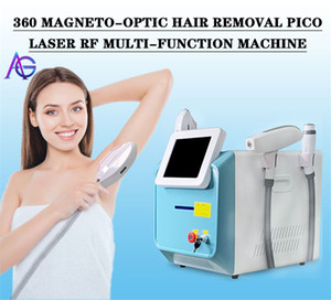 3 In 1 360 magneto Opt Shr RF Ipl yag Laser Hair Removal Machine Permanent Hair Remover Skin Rejuvenation tattoo removal beauty equipment