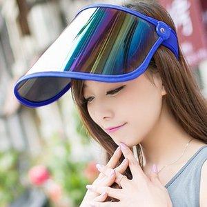 Korean-style Curling 2019 Curling Style Korean EqDVU Crimping No Sun Untopped Foldable Mask Cap Fol Riding Sun Top 2019 Empty Hat Empty Epnr