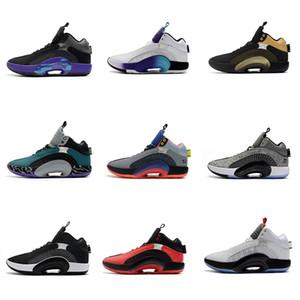 Hommes Chaussures de basket-35s Fragments Bayou Garçons Zion Williamson Guerrier Défi Rouge Bred Chaussures de sport SJA 35 ADN centre de gravité XXXV Sport