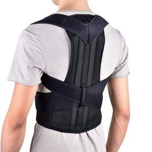 Ba correttore di posizione spalla lombare della colonna vertebrale gancio della cinghia di sostegno regolabile Correzione del corsetto postura Cintura frega il trattamento di Bodys