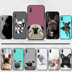 French Bulldog dog Newly Arrived Black Cell Phone Case For iphone 5 5s 5c se 6 6s 7 8 plus x xs xr
