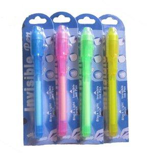 Индивидуальный Блистер Упаковка для каждого Black Light Pen, УФ-Pen С ультрафиолетовый свет / Invisible Ink Pen / Невидимый Pen AHF2636