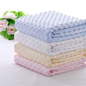طفل البازلاء بطانية بطانية الطفل طبقة مزدوجة غطاء الطباعة الفانيلا أطفال لامب الصوف طبقة مزدوجة طفل