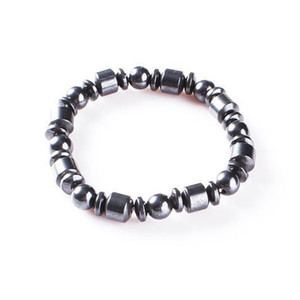 Party Beads Cuidado médico de la pulsera anti fatiga brazalete de imán Fuerza Elástica Pequeños regalos Negro flexible portable 0 89rl C1