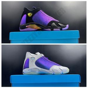2020 OG Doernbecher حرة Jumpman 14 14S كرة السلة للرجال أحذية الألياف الكربونية رجل مدرب الرياضة رياضي حذاء رياضة حجم 7-13 CV2469-001