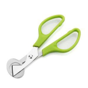 Green Stainless Steel Pigeon Quail Egg Shells Scissors Bird Cutter Opener Egg Slicers Cigar Cutter Kitchen Tool Clipper DHL