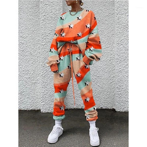 2 Pieces Set Dashiki Traditional 2020 African Clothing Two Piece Set Women Africain Print Casual Tops And Pants African Clothes1