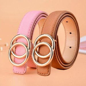 New Multicolor High Quality Children Leather Belts for Boys Girls Kid Casual Pu Waist Strap for Jeans Pants Trousers Waistband