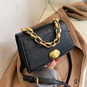 Umhängetasche für Frauen Design Kette 2021 Mode Mädchen Messenger Bag Kleine Geldbörsen und Handtaschen Bolsa Feminina SAC