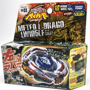 100% original Takara Tomy Beyblade Metal Fusion BB-88 Meteo L Drago LW105LF + Lanzador L 210128