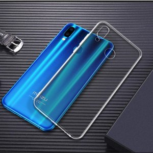 For Meizu Note 9 8 Case X8 16S 16XS 16 16th m5s Ultra Thin Clear Transparent Crystal Soft TPU Silicone Mobile Phone Case Cover