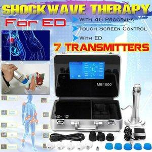 Elektrikli Masajlar Akustik Dalga Zimmer Shockwave Terapi Makinesi Fonksiyonu ED Tedavi için Ağrı Azaltma