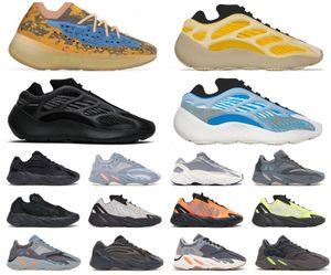 2019 Geode 700 Wave Runner Mauve Yeezy Boost Shoes 700 V2 Statisch Kanye West Männer Frauen Sport Laufschuhe Designer Turnschuhe Größe 36-45