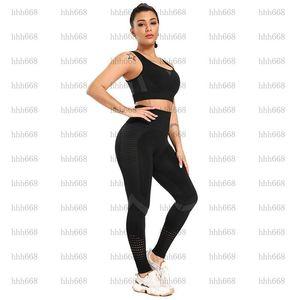 ATHVOTAR 2 PCS Trajes deportivos Mujeres Conjunto de fitness Sportswear Woman Gym Leggings Push-Up Sporty Deportes Bra1