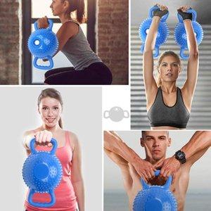 Fitness kettlebell men women dumbbell training sport squat equ ipment household hip lift binaural dumbbell full body training