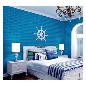 3D Stereo Waterproof Wallpaper Stone Brick Background Wall Stickers Wall Paper Creative Living Room Hotel Study Wallcovering Dbc Sgrzc