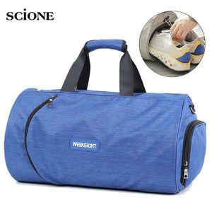 Men Gym Bag Dry Wet Fitness Handbag Women Shoes Storage Shoulder Travel Gymtas Sac De Sport Bags Bolso Deportivo Mujer XA905WA 181