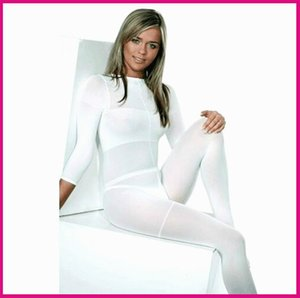 White black body roller massage costume vacuum suit LPG for velashape therapy machine high elasticity soft clothe Free Shipping