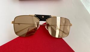 New top quality 0198 mens sunglasses men sun glasses women sunglasses fashion style protects eyes Gafas de sol lunettes de soleil with case
