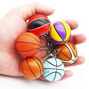 New Fashion Sports Keychain Car Keyring Basketball key chain Pendant For Favorite Sportsman's Gift