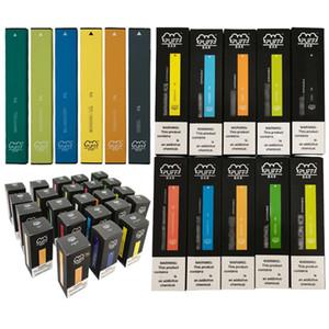 25 Farben Authentische Sicherheitscode 10 Stück Auto Vape Stift Einweg Dampf 300 Puffs 280 mAh Puff Bar Bestseller
