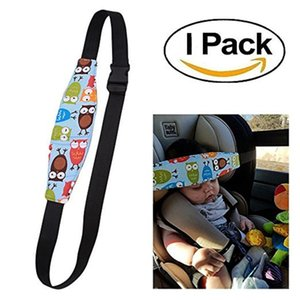 Child Car Safety Seat Head Fixing Auxiliary Cotton Belt Pram Secure Strap for Baby Pram Child Safety Seat