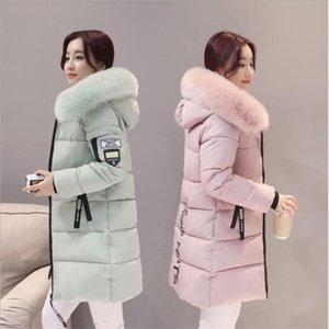 Parka coat women winter coat long cotton casual cotton hooded women thick warm winter 2019 new