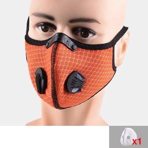 Con WRT1 PM2. Máscaras Máscara estirable protectora contra el polvo al aire libre 5 Fa reutilizable capa respirador adulto Con WRT1 PM2. Máscaras estirable Ma idej