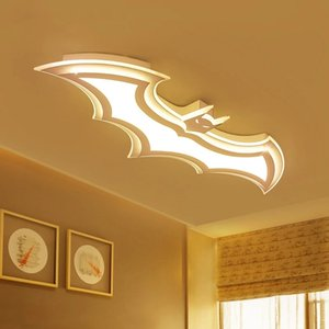 Batman led ceiling lights for kids room Bedroom balcony home Dec AC85-265V acrylic modern led ceiling lamp for childroom room
