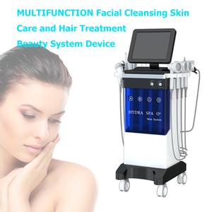 8 in 1 Hydrafacial Micro dermabrasion RF Bio lifting Spa Facial Machine Aqua Facial cleaning Hydro Machine water Peeling Dermabrasion