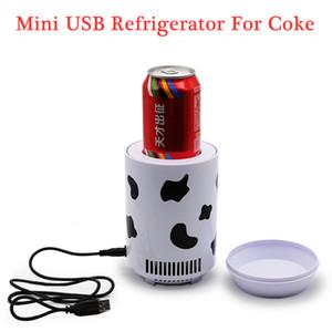 Mini Refrigerator Car Fridge USB portable mini fridge Beverage tanks Cooler Refrigerator Movable fridge car electrical cooler