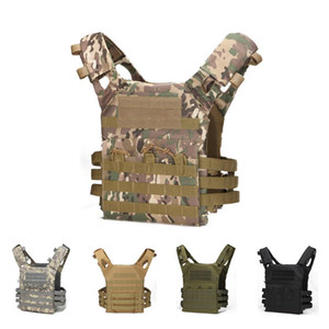 Hunting Tactical Body Armor Molle Plate Carrier Vest Outdoor CS War Games Paintball Vest Equipment