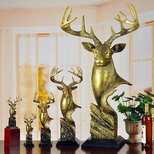 L Büyük Boy Hayvan Dekorasyon Oturma Odası Dolabı Yemek Masası Dekorasyon Reçine İmitasyon Bakır El Sanatları Yaratıcı Ev Hediyeler