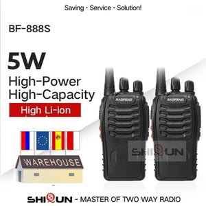1PC or 2PCS Baofeng BF-888S Walkie Talkie 888s UHF 5W 400-470MHz BF888s BF 888S H777 Cheap Two Way Radio with USB Charger H-7771