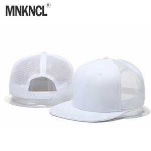 MNKNCL 2020 New Fashion Blank Mesh Camo Snapback Hats Gorras Casual Baseball Caps For Men Women Bone Hip Hop Sun Hats 11 Colors