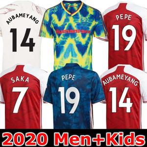 футбол Джерси Arsen 20 21 PEPE SAKA HENRY GUENDOUZI Виллиан Final Тирни 2020 2021 футбола рубашка Мужчина + Детский комплект ALWAYS 14 FORWARO