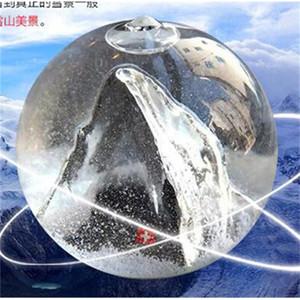 Estilo de vidro Previsão Garrafa criativa Ornamentos Home Decor Flor bonito H Craft tempestade para o presente de Natal