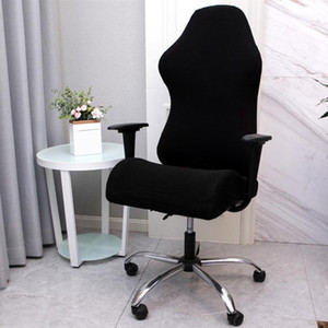 Solid Reusable Dustproof Gaming Chair Cover Polyester Home Office Furniture Protector Washable Computer Seat Stretch Soft1